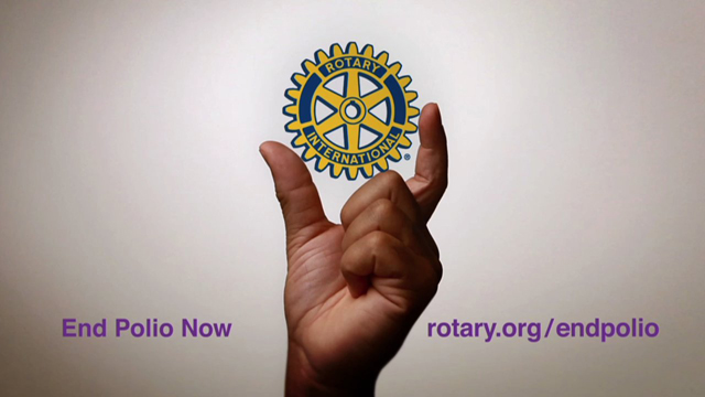 Bill Gates Congratulations Rotary